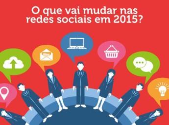 Tendências das redes sociais em 2015