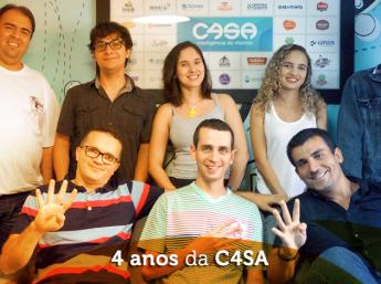 4 anos da C4SA - Inteligência de marcas